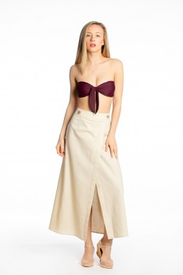 Anna - overlap skirt