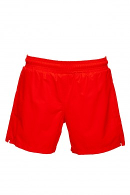 Beach shorts - Coral red